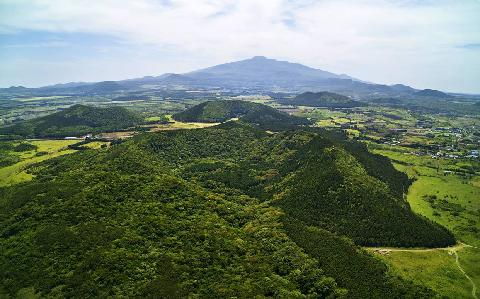 Geomun Oreum Volcanic cone (UNESCO World Natural Heritage )
