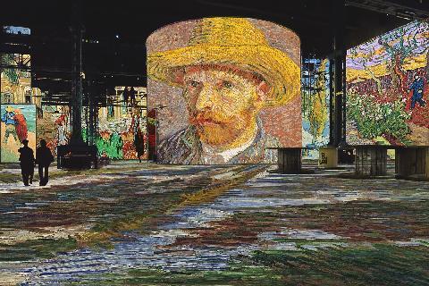 Bunker de Lumières: van Gogh 대표이미지